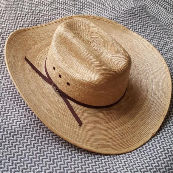 aeba4bf5bfa NWOT Tony Lama Palma Cowboy hat. M 5a98891c9d20f0e1005e1ae4